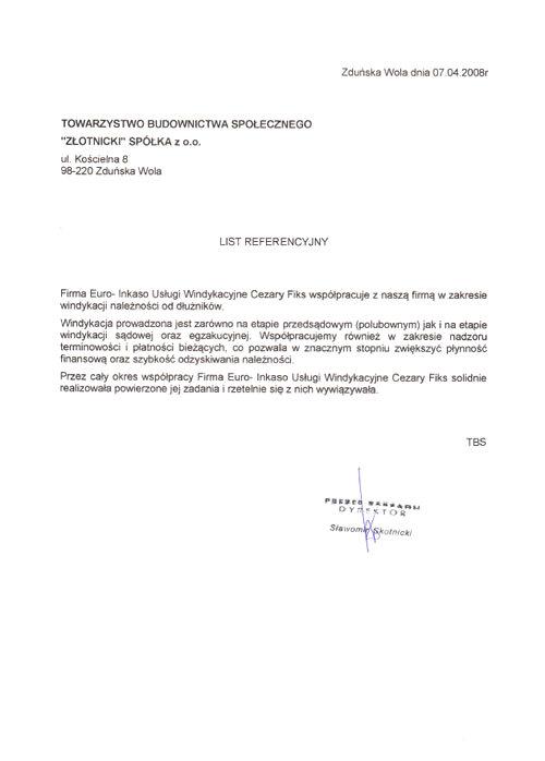 ZŁOTNICKI Spółka z o.o.
