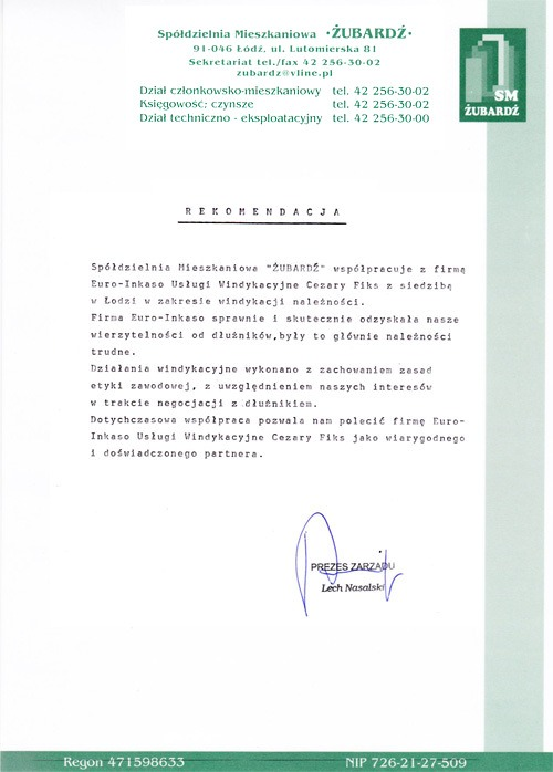 Spółdzielnia Mieszkaniowa ŻUBARDŹ