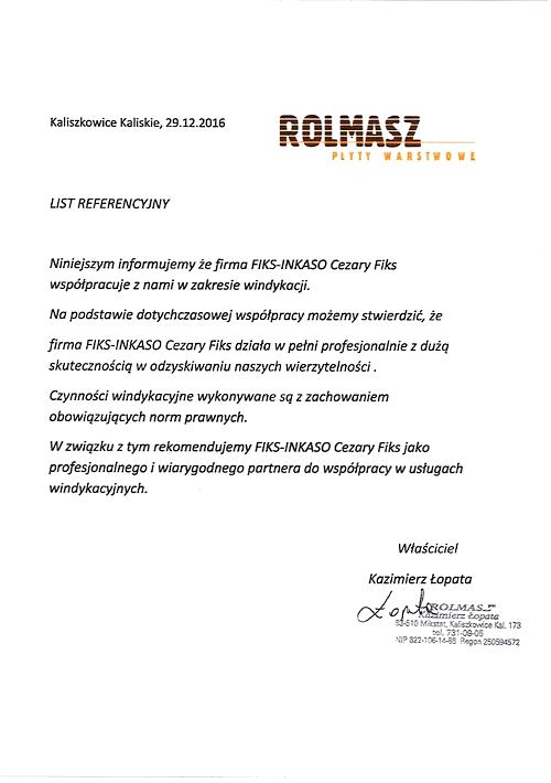 Rolmasz - Płyty Warstwowe Kazimierz Łopata